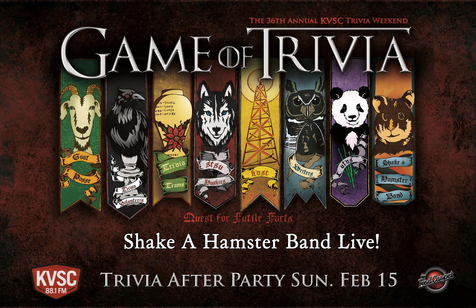 Behind the Scenes of KVSC'S 36th Annual Trivia Weekend: Game of Trivia, Quest for Futile Facts PART 2