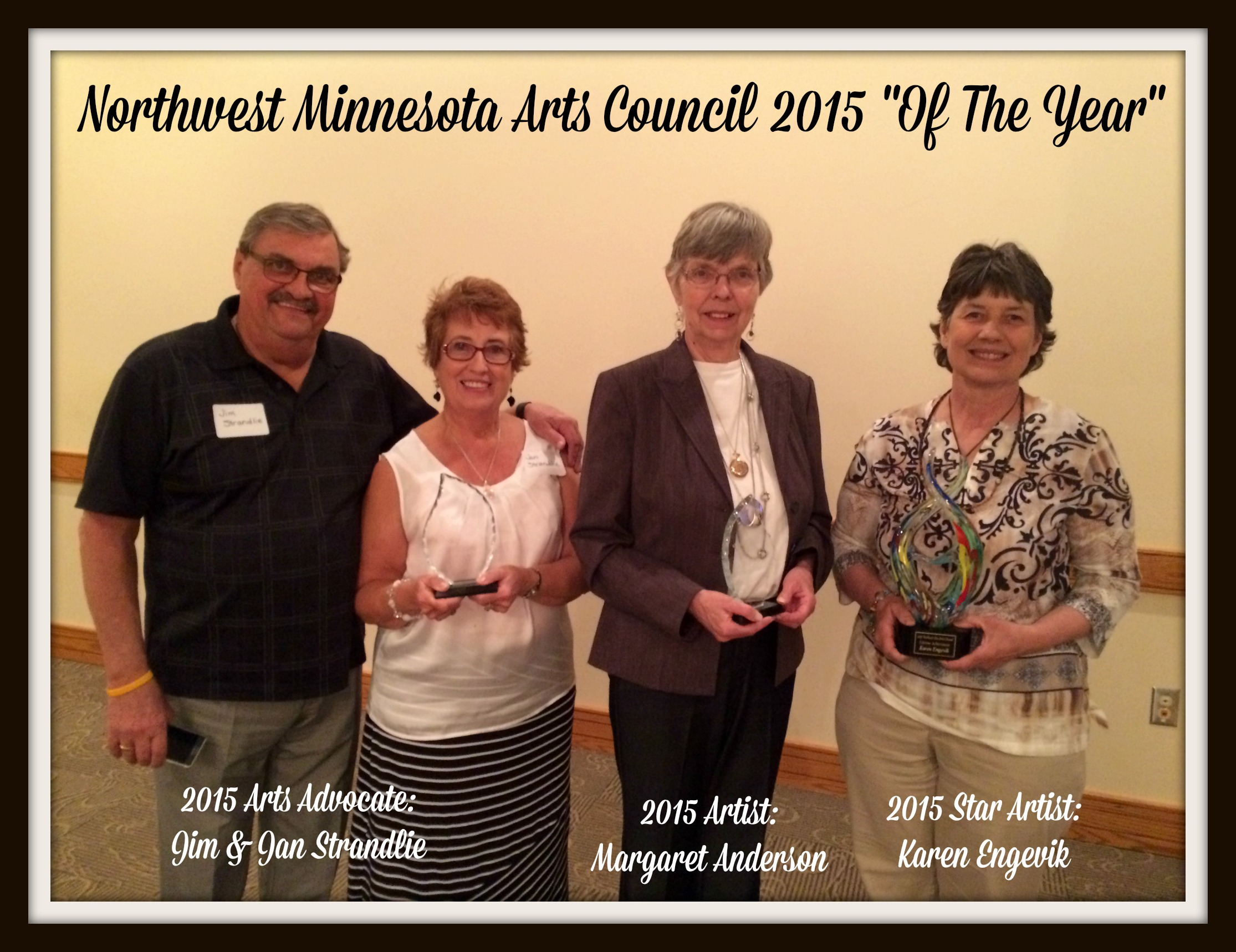 Update from the Northwest Minnesota Arts Council!