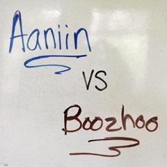 Aaniin vs. Boozhoo