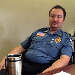Ken Washington, Chief of Tribal Police