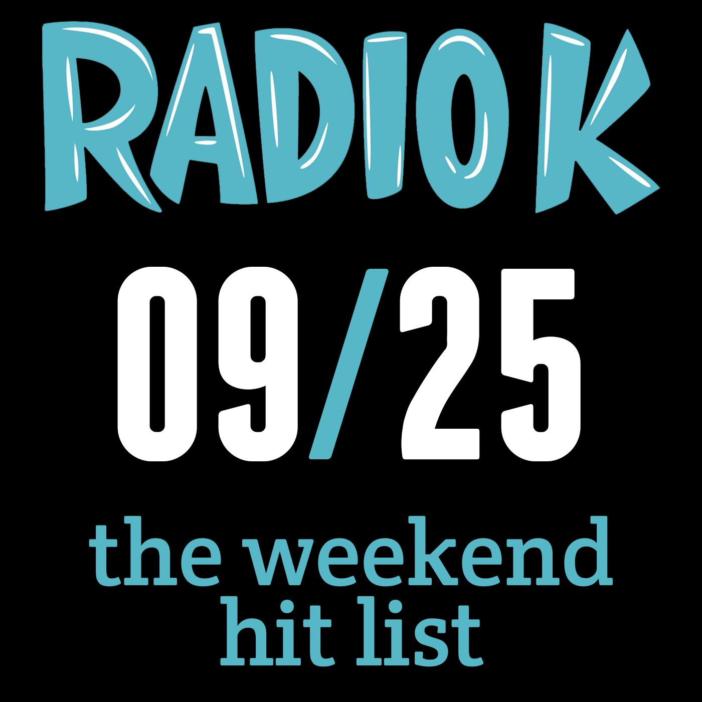 Weekend Hit List – 09/25/2015