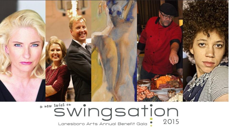 "Lanesboro Arts Center presents ""Swingsation!"""