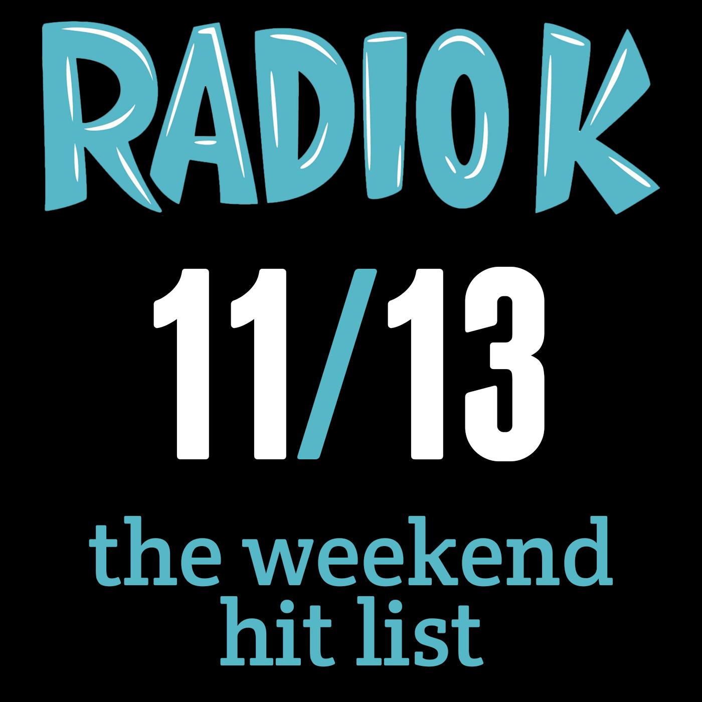 Weekend Hit List – 11/13/2015