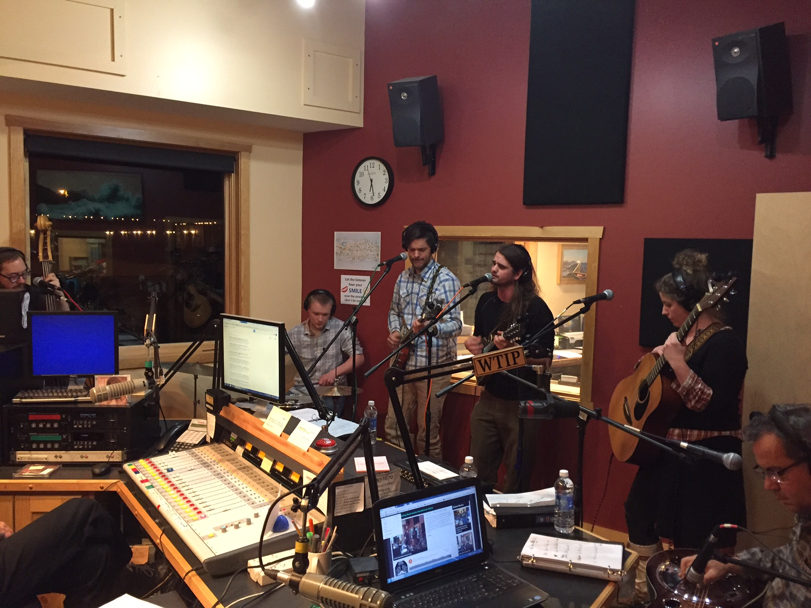 Plucked Up String Band brings original sound to Studio A