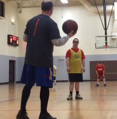Shooting Hoops, Making Friends