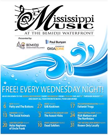 Mississippi Music at the Bemidji Waterfront Series