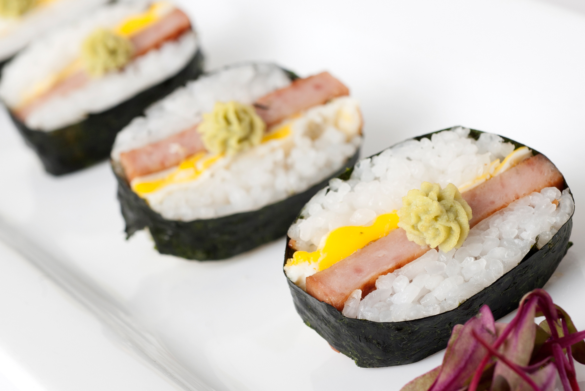 New foods for MN State Fair this year….SPAM sushi, anyone?