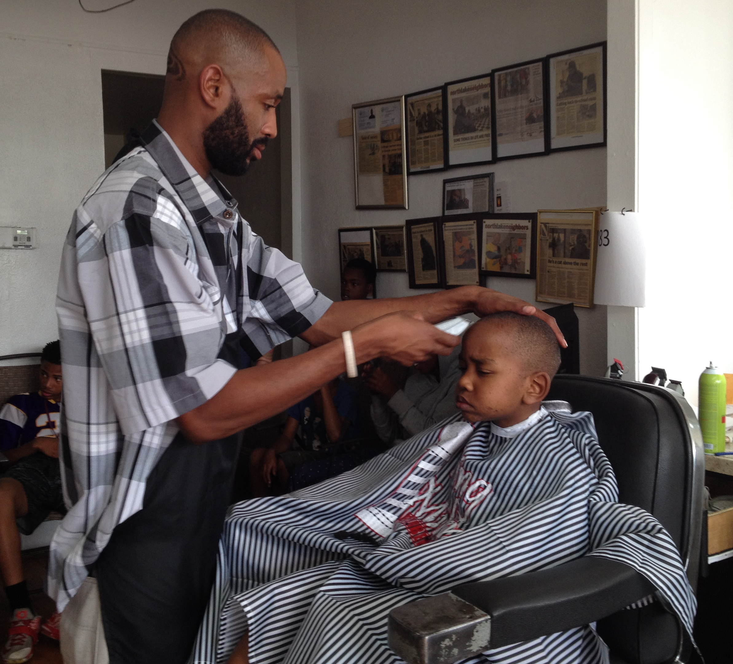 One Day, 350 Free Haircuts