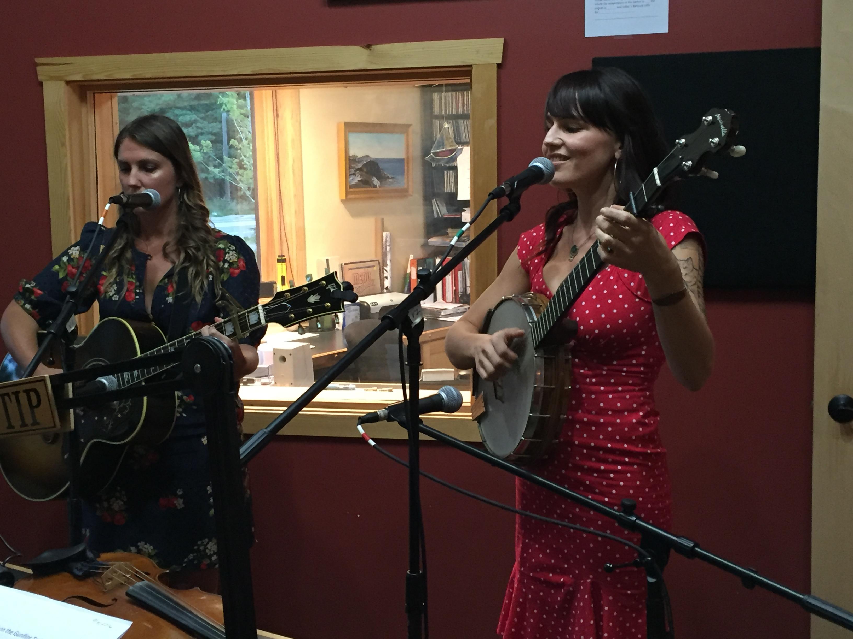Dusty Heart brings gorgeous harmonies to Studio A