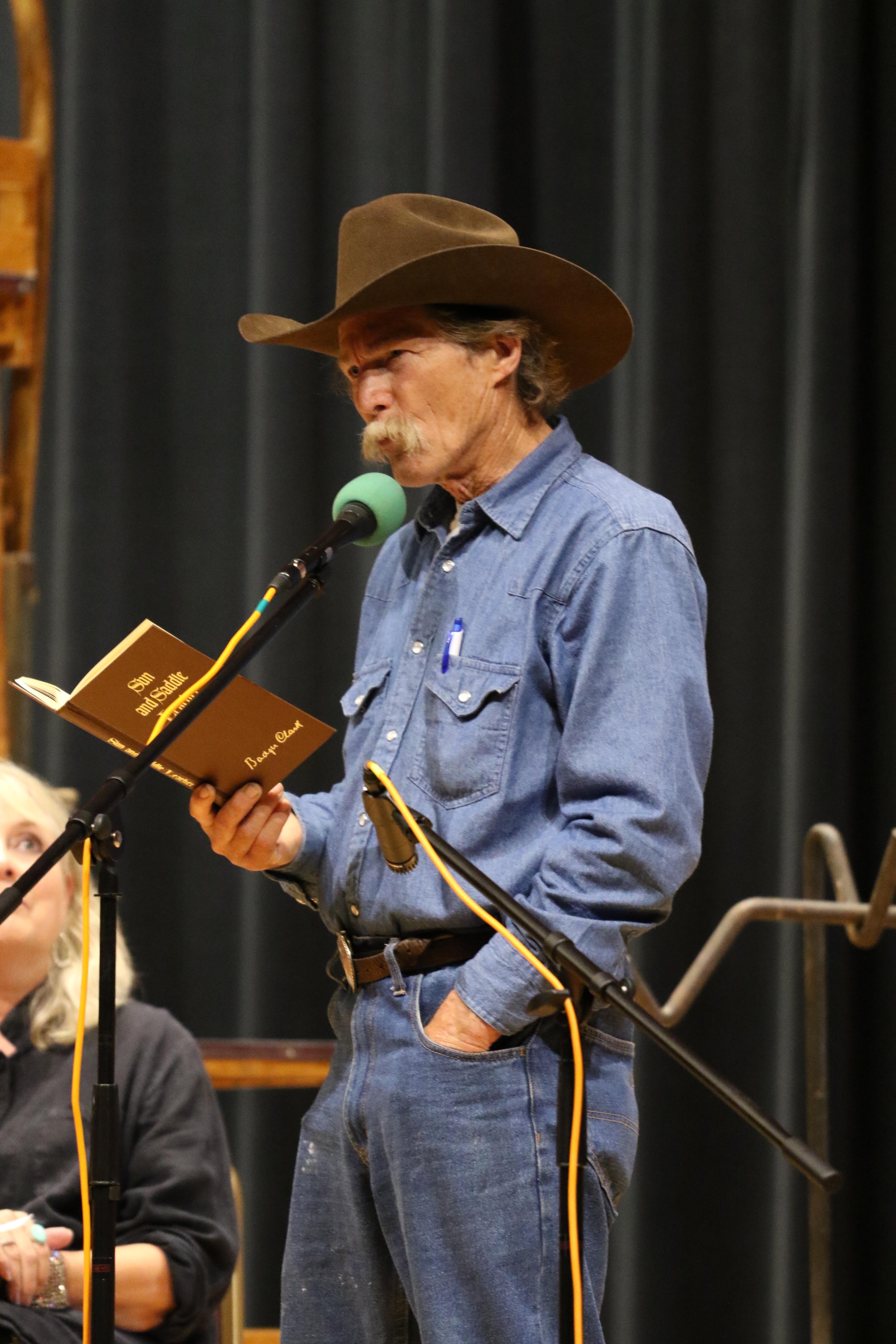 Cowboy Poetry Workshop, Hot Springs, SD