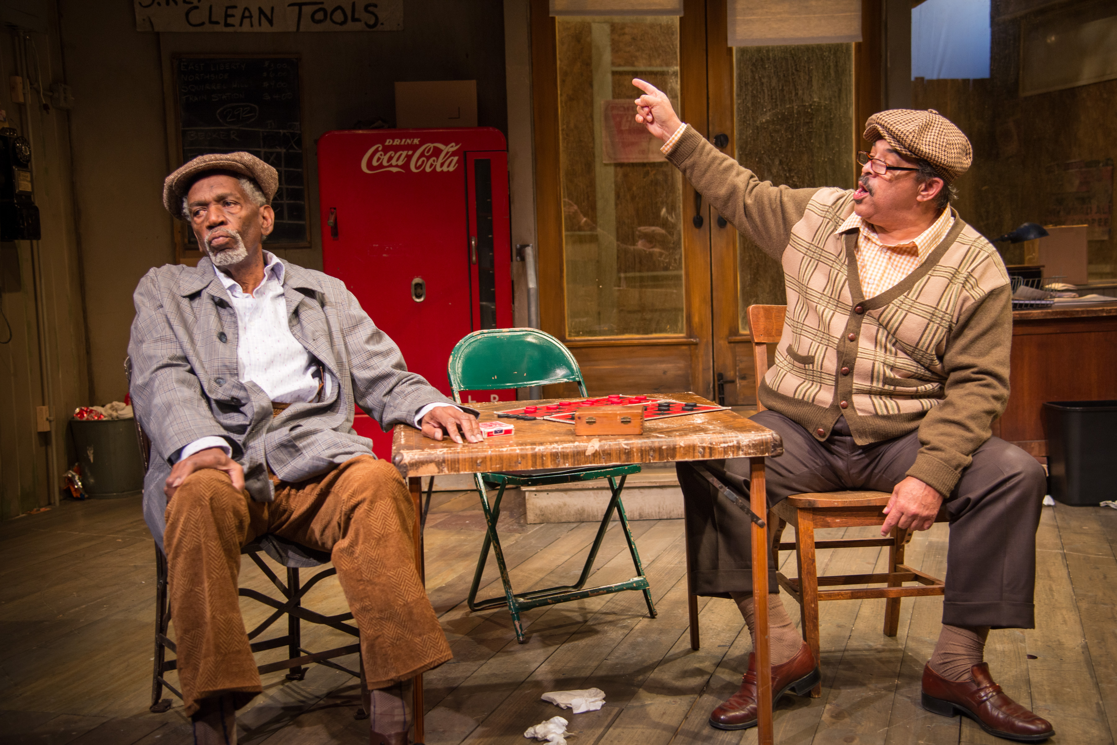 Jitney: A Conversation with Lou Bellamy and T. Mychael Rambo