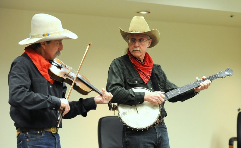 Pop Wagner and Bob Bovee Have Quite a Time at Crossings at Carnegie in Zumbrota, Saturday Night Oct 29.