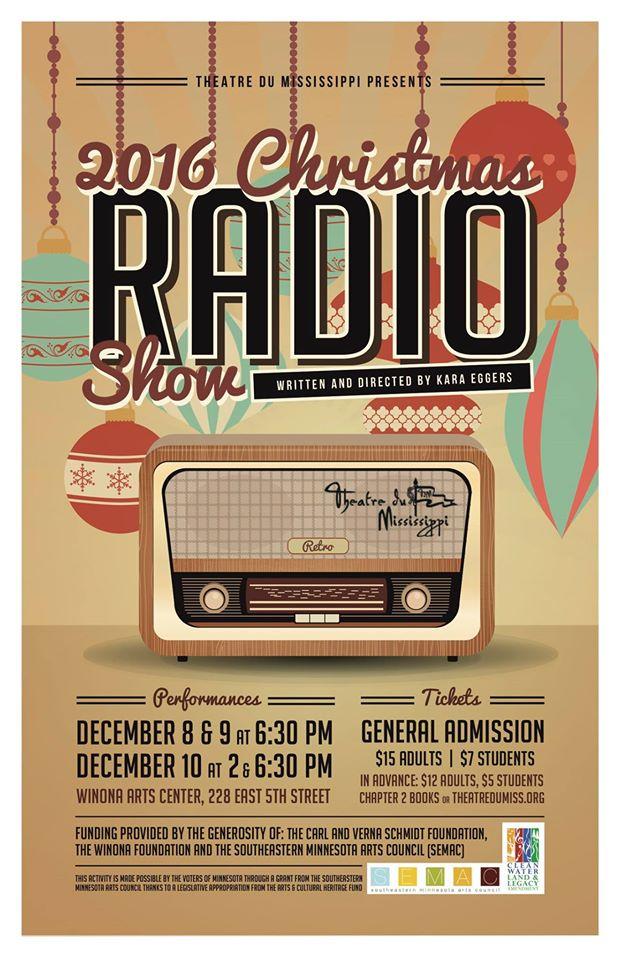 The Upcoming Winona Christmas Radio Show