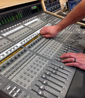 Area Voices:  Troy Foss, Sound Engineer