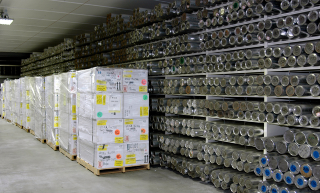 National Ice Core Lab stores samples from ice sheets all over the world