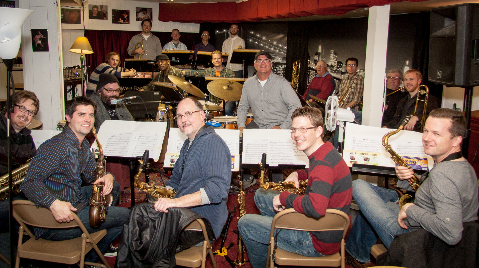 Twin Cities Latin Jazz Orchestra Plays a Twin Cities Listening Room