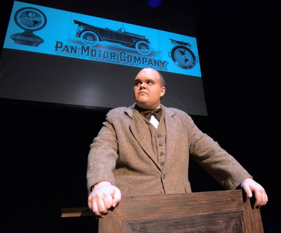 The Untold Story of Sam Pandolfo's Pan Motors on early St. Cloud through the play The Wizard of Progress at the Pioneer Place Theater