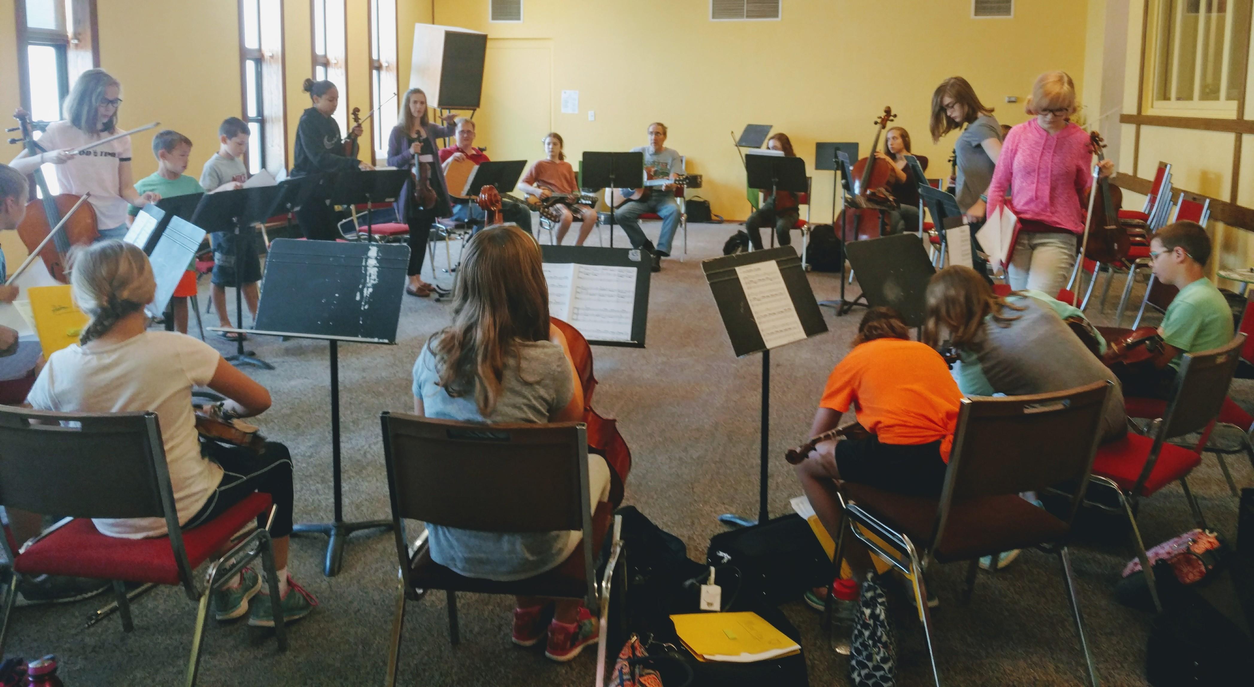 Area Voices: Fiddle Camp