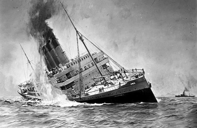 MN90: The Sinking of the Lusitania