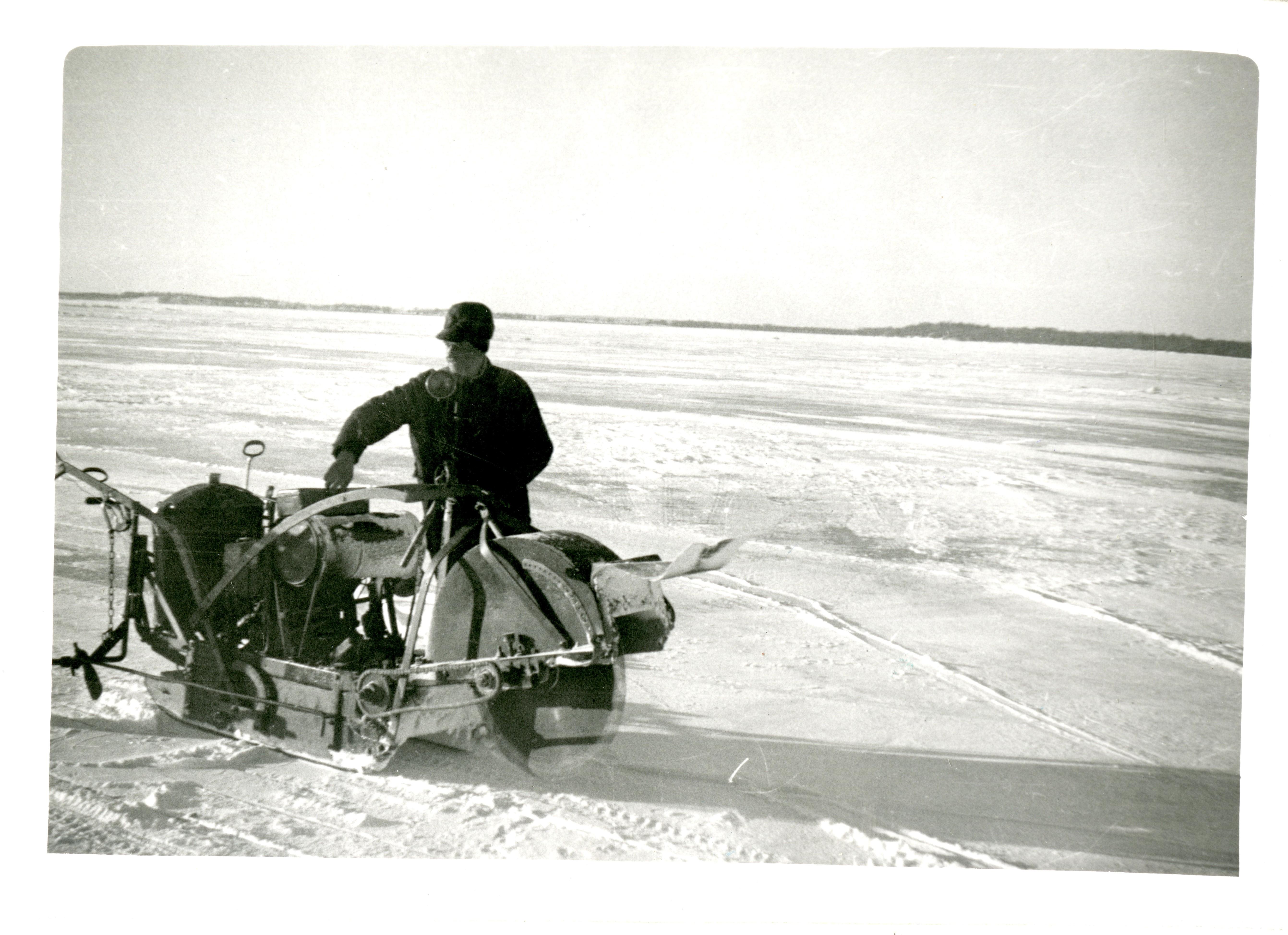 History of Detroit Lakes Ice Harvesting: Edgar Ewals Pt1