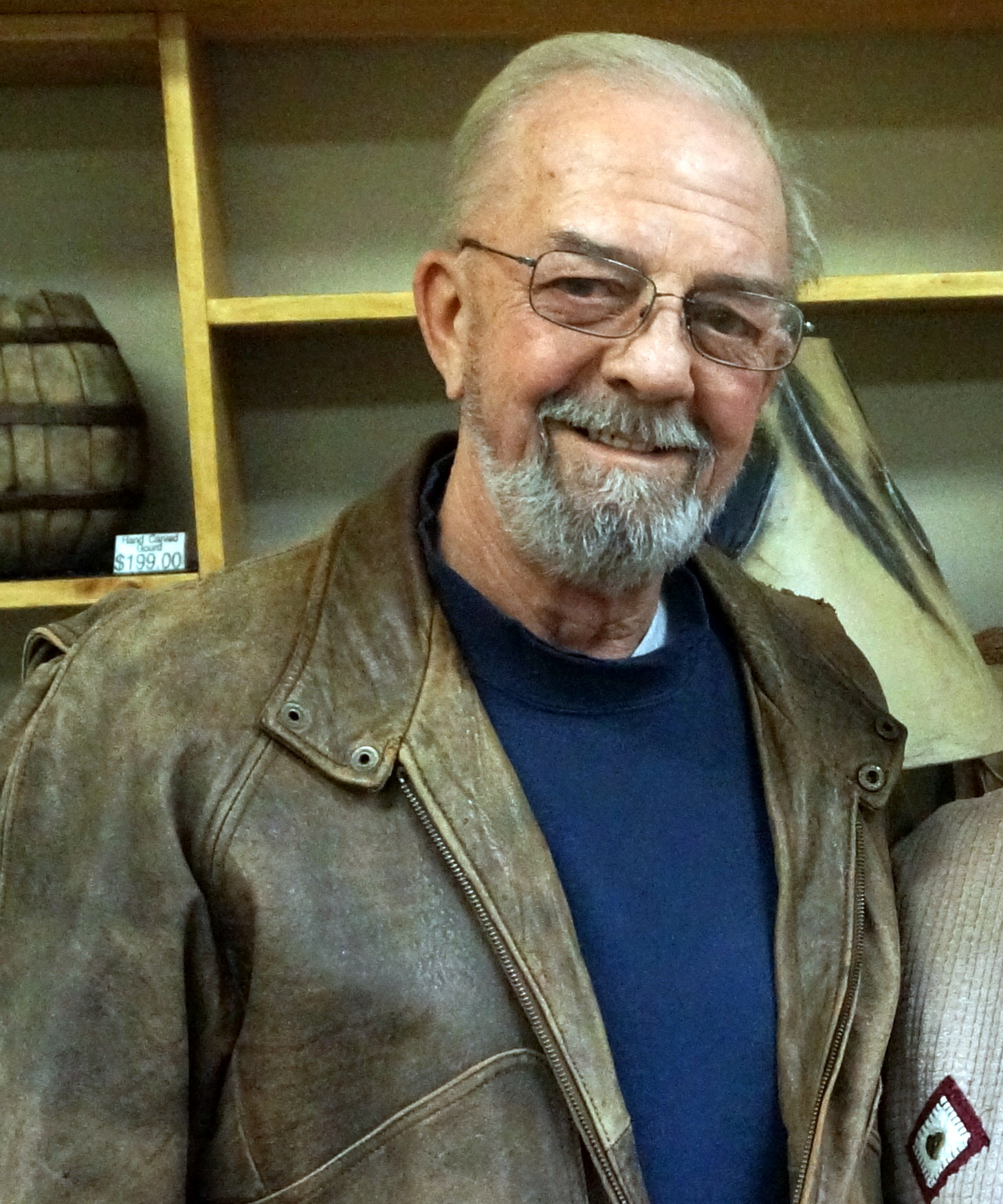 Denny Trandem: Wood Carver
