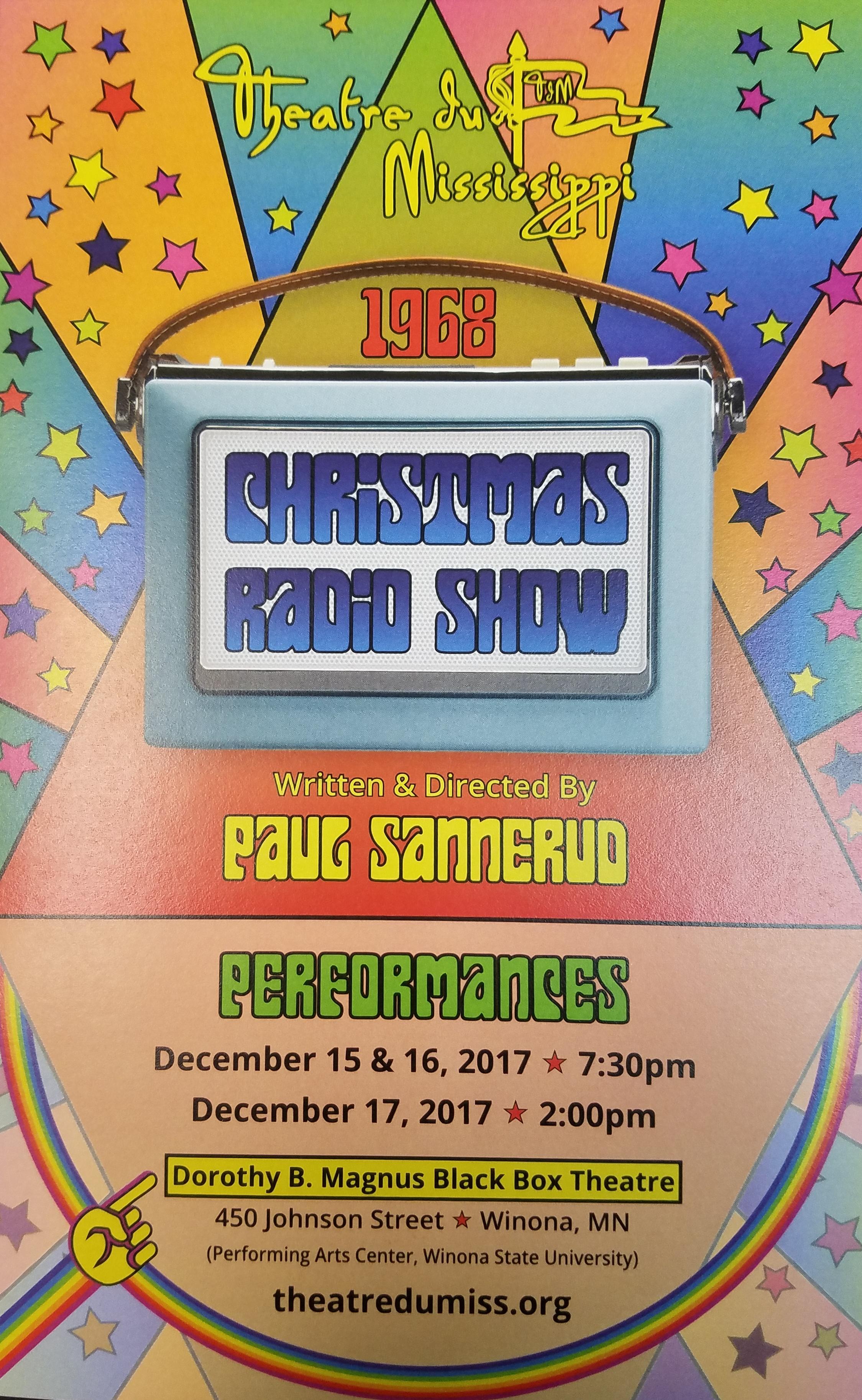 Theatre du Mississippi: Christmas Radio Show 2017 Part One