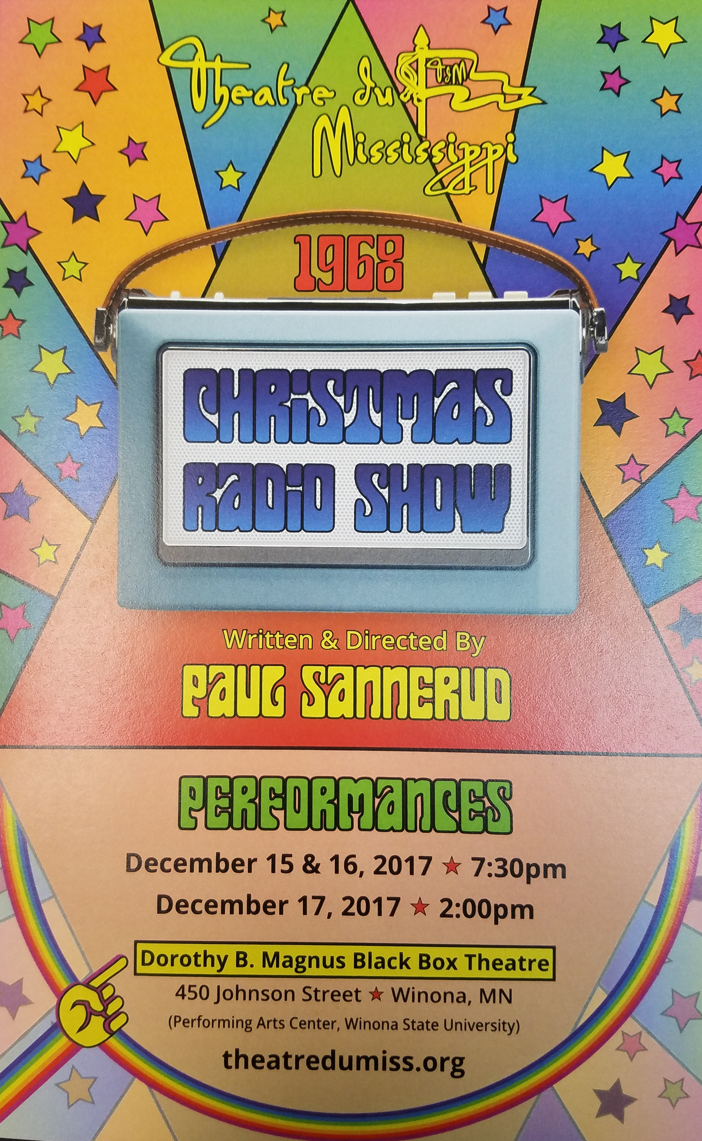 Theatre du Mississippi: Christmas Radio Show 2017 Part Two