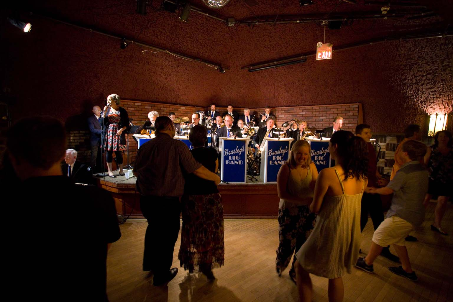 Beasley's Big Band Swings Hard for All Occasions
