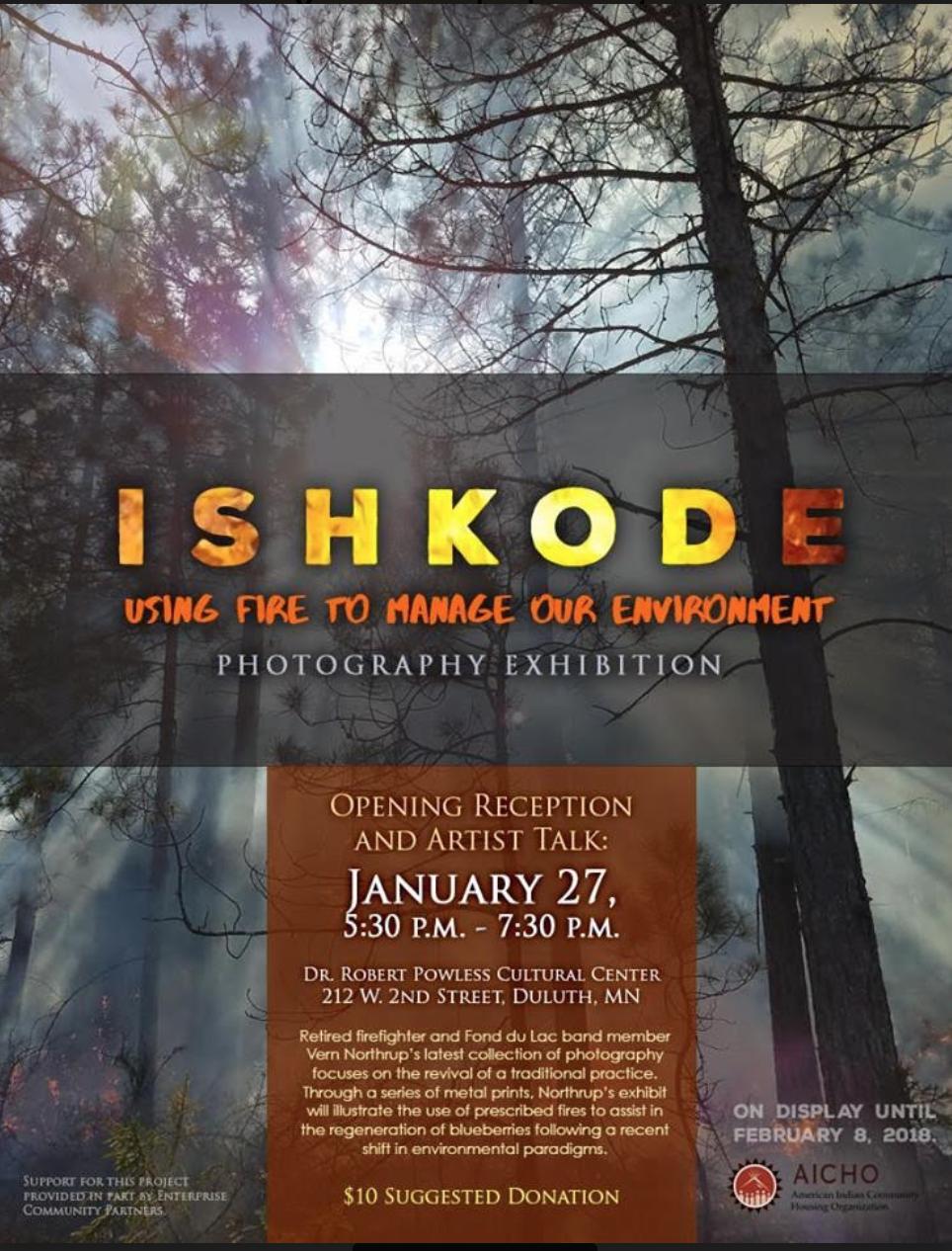 Minnesota Native News: Ishkode Photography Exhibit at AICHO