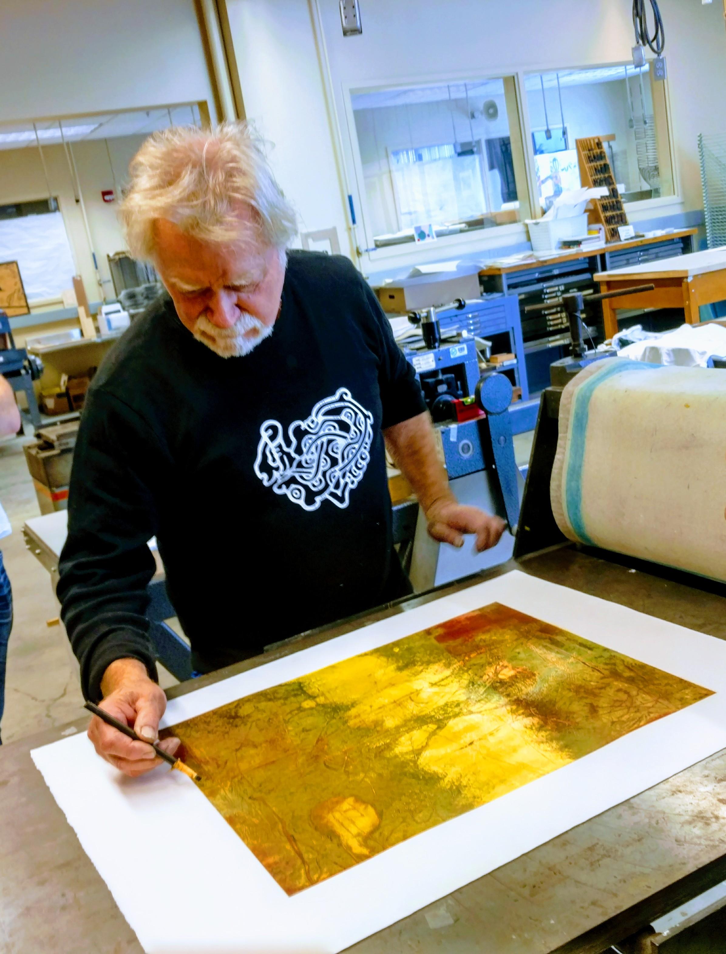Master Printmaker Dan Welden Visits Bemidji State University
