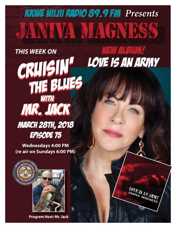 Cruisin' the Minnesota Blues EP 75 Janiva Magness
