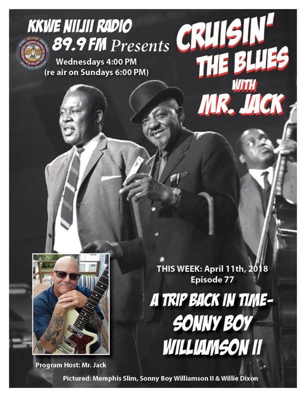 CRuisin' the Blues EP 77 Sonny Boy Williamsin II