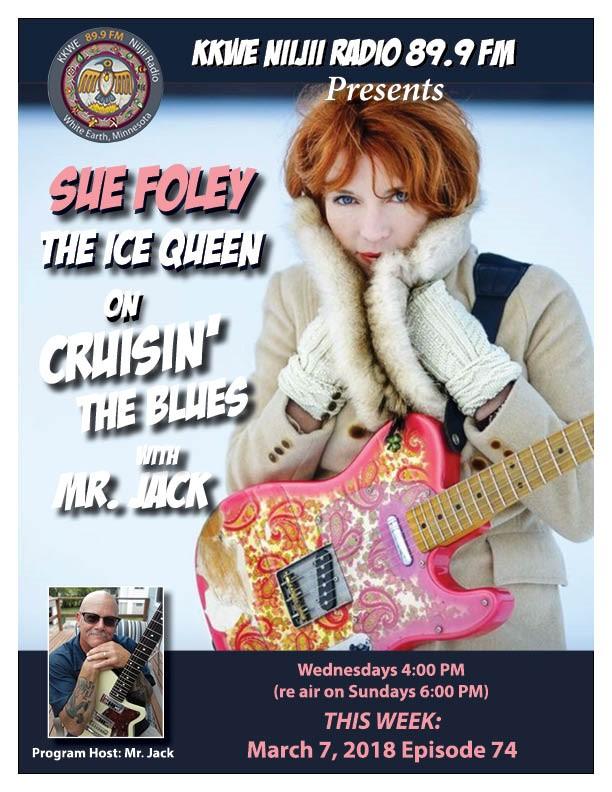 Cruisin' the Blues EP 74 Sue Foley