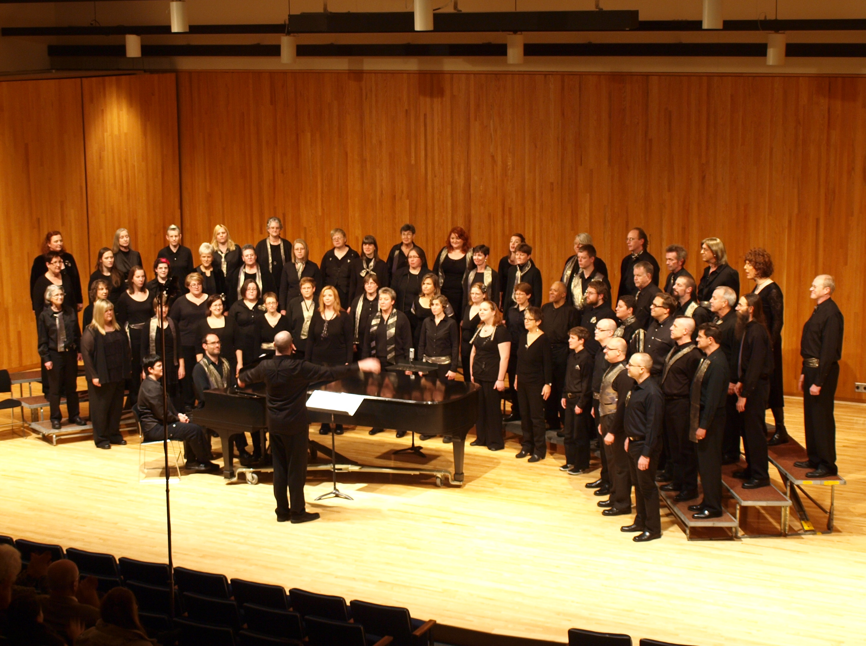 One Voice Mixed Chorus Provides Sanctuary