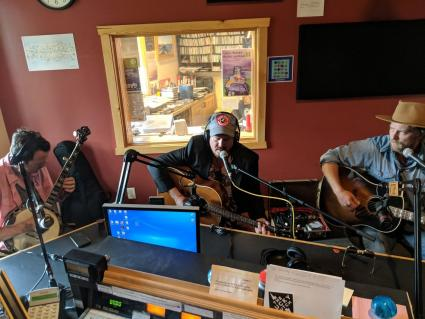 David Huckfelt and Frankie Lee with Michael Rossetto on WTIP