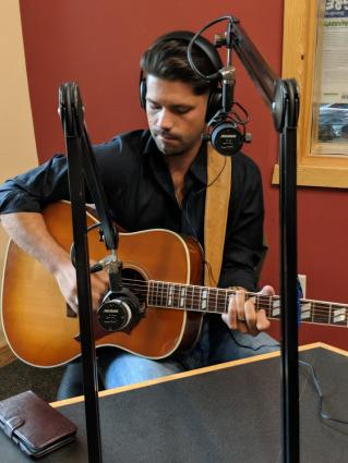 Tim Styles comes home, plays live on WTIP