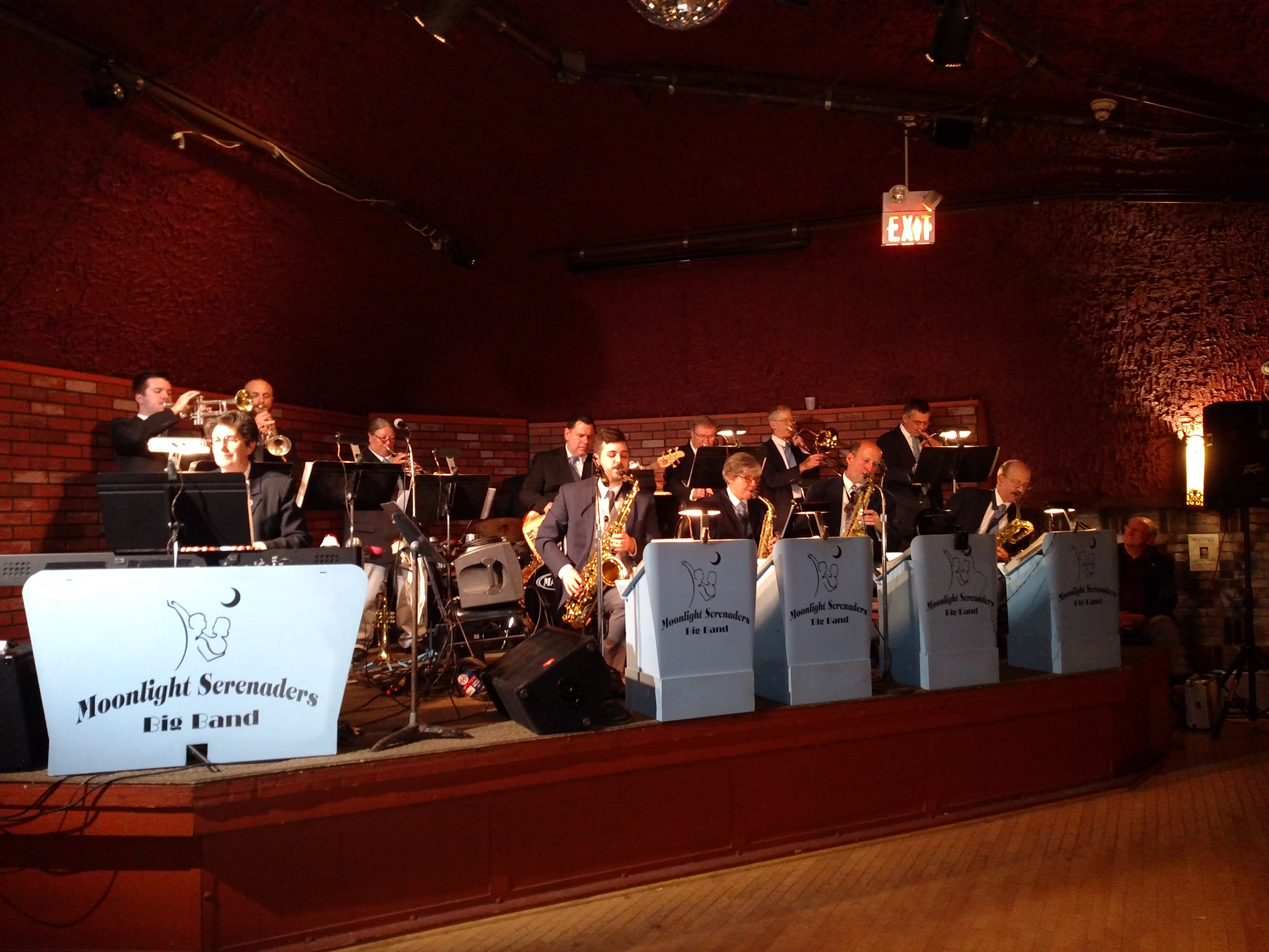 The Moonlight Sereneders Big Band at the Wabasha Caves, St Paul's Coolest Venue