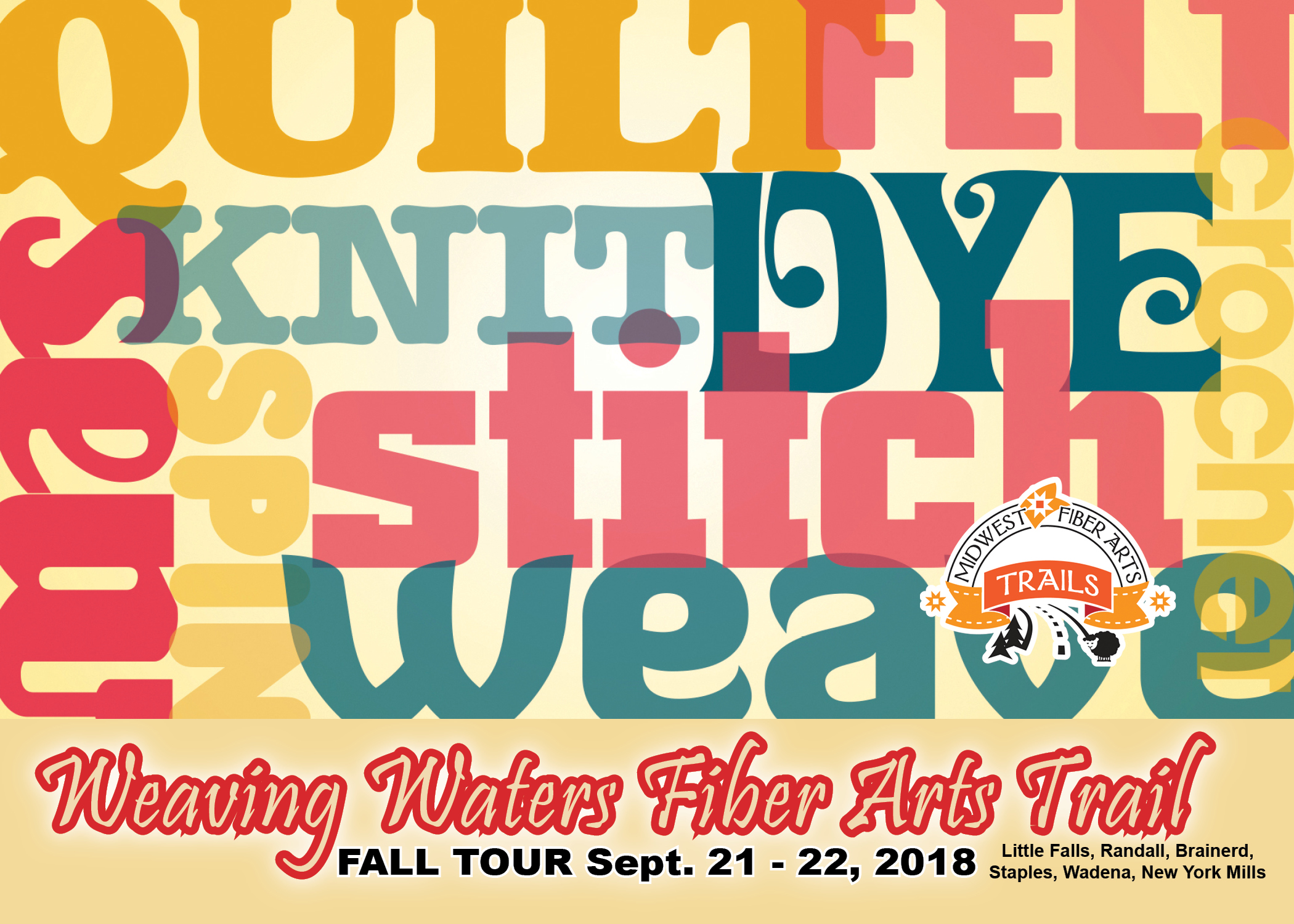 Weaving Waters Fiber Festival in Central MN this weekend