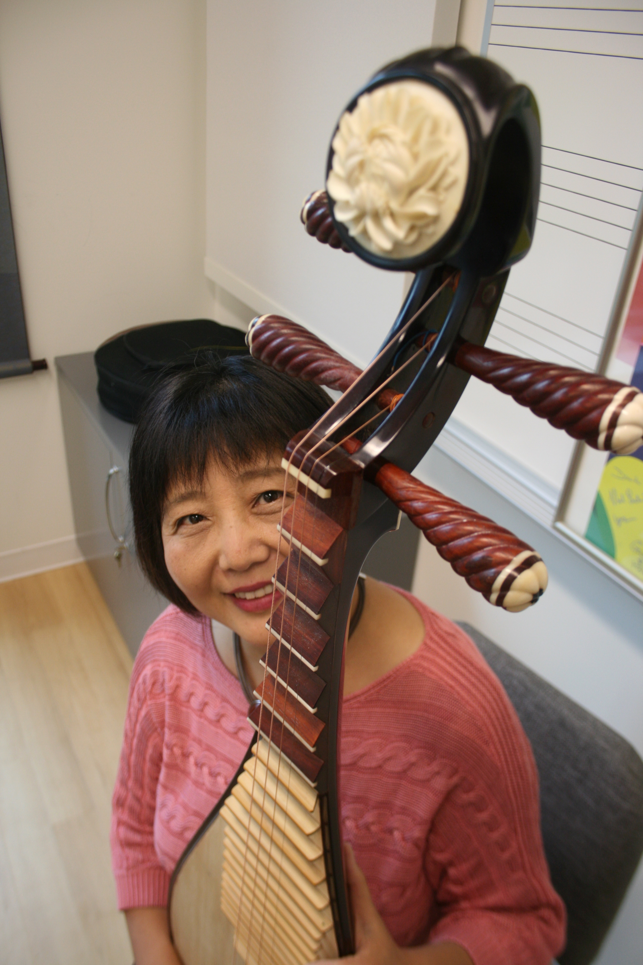 Playing The National Anthem On A Pipa? Gao Hong Brings It
