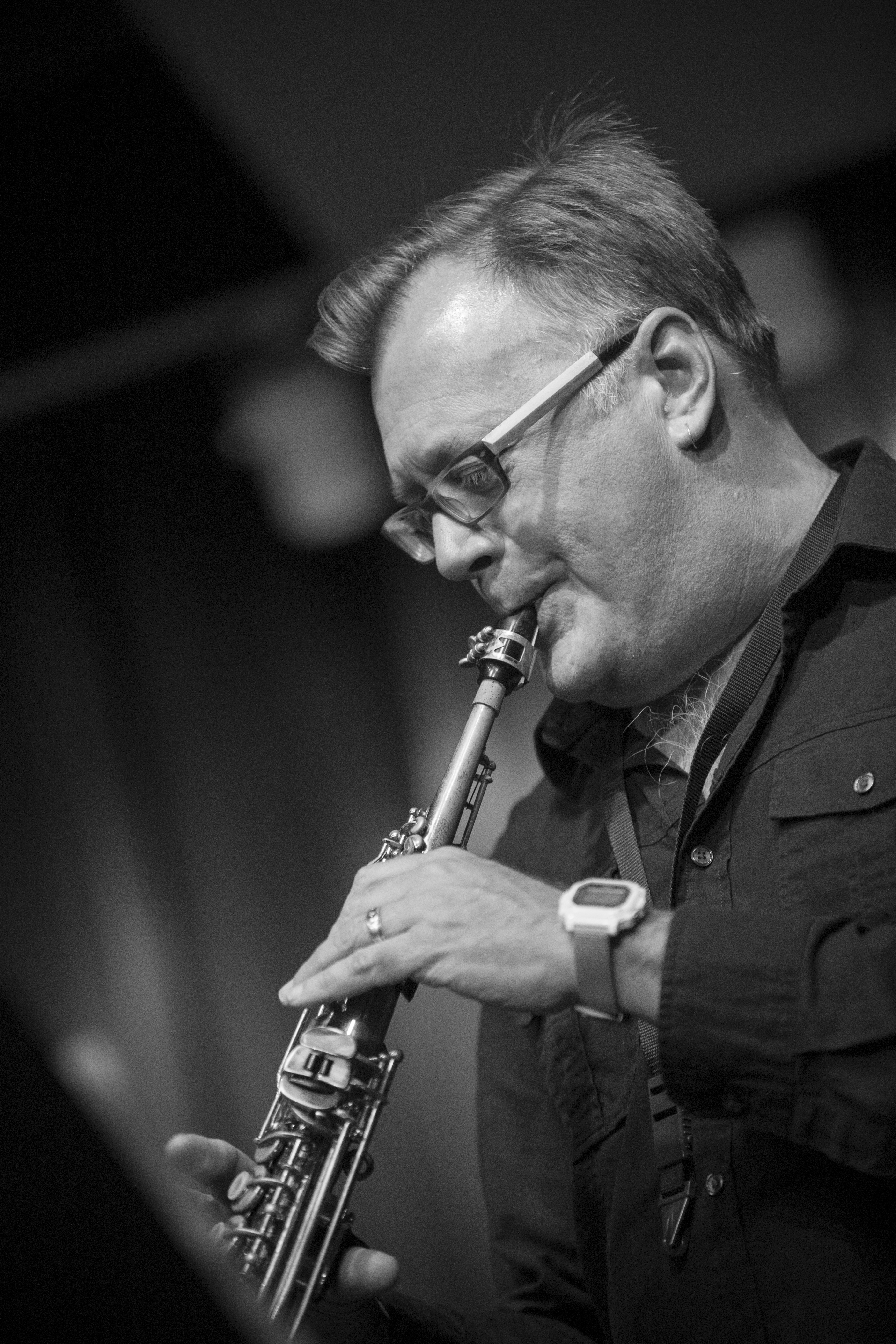 Nathan Hanson on the Saxophone Cutting Edge in Two Formats