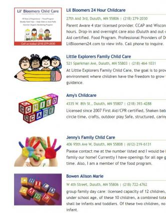 Lack of childcare a factor in family leaving community