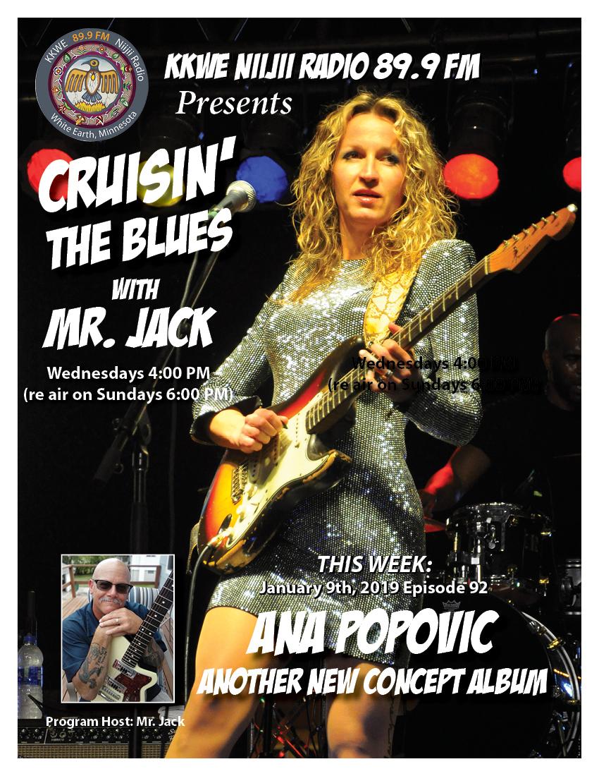 Cruisin the Blues EP 920 Ana Popovic