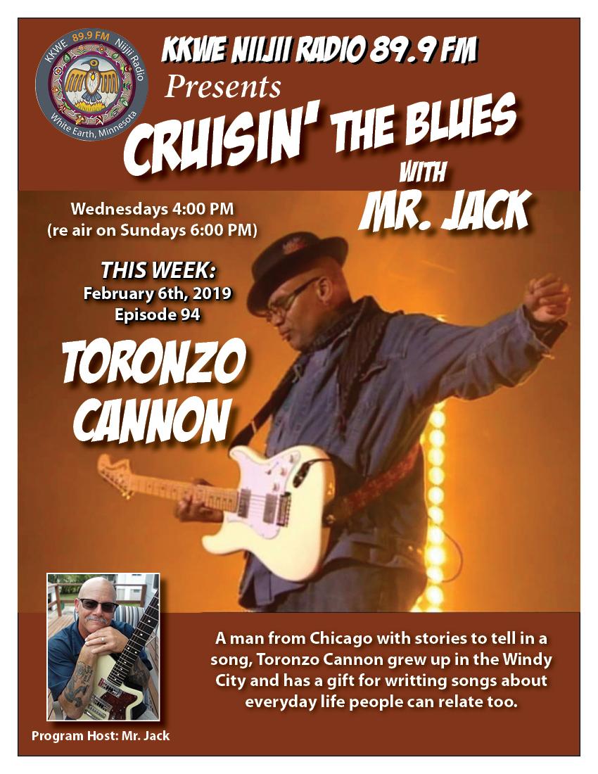 Cruisin the Blues EP 94 Toronzo Cannon