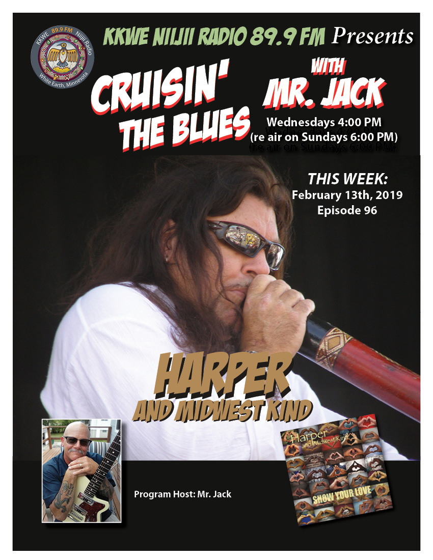 Cruisin the Blues EP 96 Harper and Midwest Kind