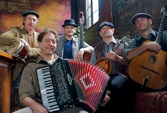 Café Accordion's Show Midnight in Paris is One of the Group's Biggest Hits