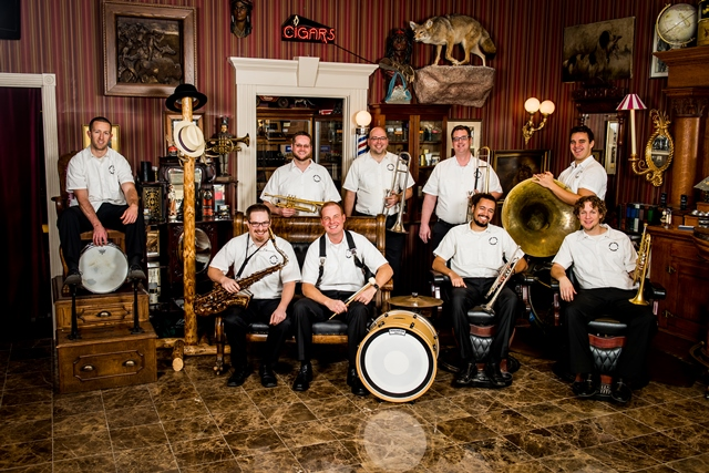 The Jack Brass Band Plays its Modern New Orleans-Style Jazz next Thursday at Vieux Carre in Saint Paul