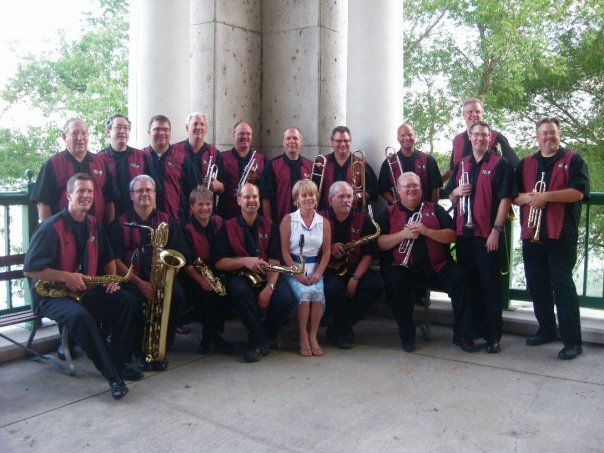 Bend in the River Big Band Plays the Wednesday May 30 Swing Dance at the Wabasha Street Caves in St Paul