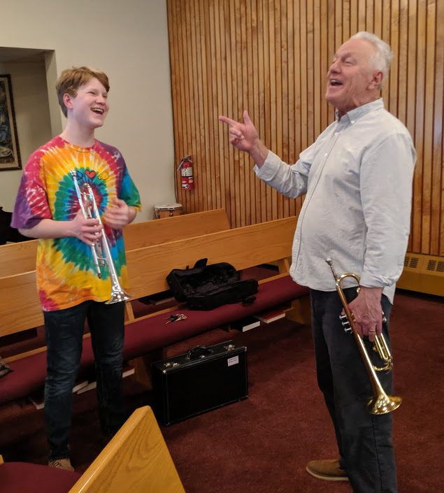 Learning Trumpet with Chris Gillis and Jack Willis