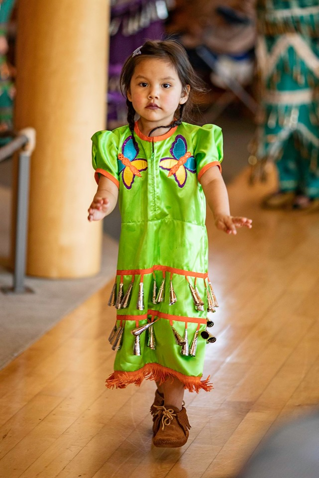 Jingle Dress Exhibit at the Mille Lacs Indian Museum, Onamia, MN