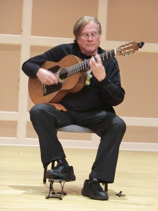 Michael Hauser Father of Midwest Flamenco Performs at the Loring This Sunday